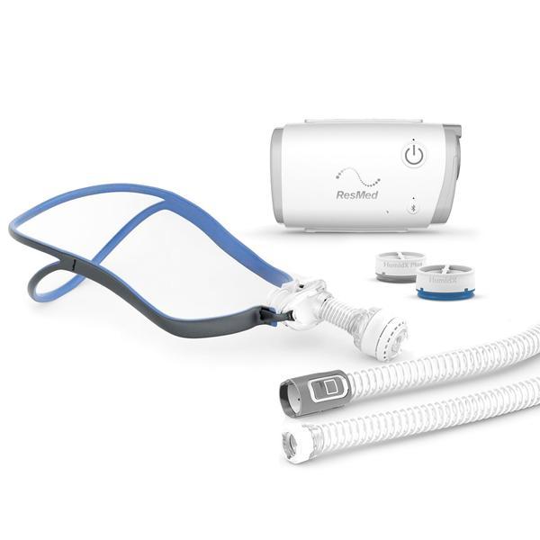 Resmed AirMini Automata utazó CPAP + AirFit P10 orrpárna szett