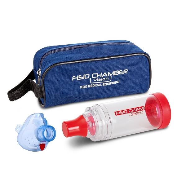 Fisio Chamber bébi maszkkal (0-3 év), kék táskával - KM-1322B