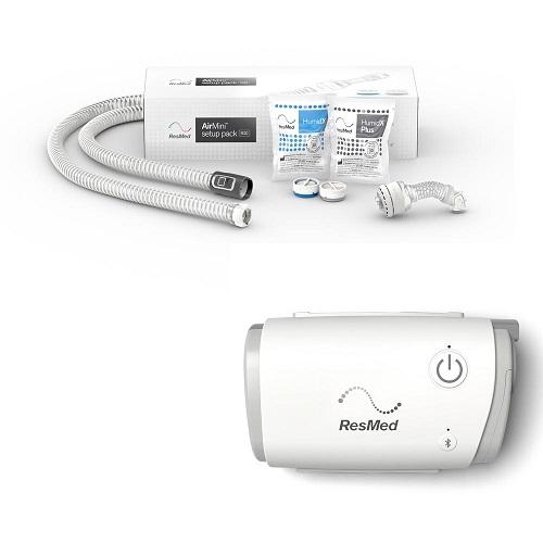 Resmed AirMini Automata utazó CPAP + AirFit N20 nazális maszk szett